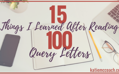15 Things I Learned After Reading 100 Query Letters
